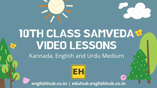 10th Class Samveda YouTube Video Lessons 2021-22