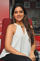 Tanya Hope in a whtie shirt and leggings at Song launch of Movie Patel Sir ~  Exclusive Celebrities Galleries 046.JPG