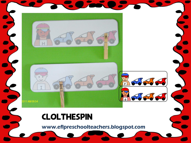 Esl Efl Preschool Teachers Alphabet