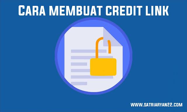 Cara membuat Credit Link pada Template Blog