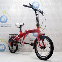 Sepeda Lipat Exotic ET2625 6 Speed 16 Inci