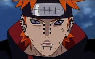 Pain vs Naruto di Naruto Shippuden