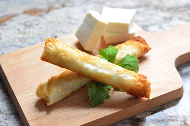 Lebanese Cheese Rolls