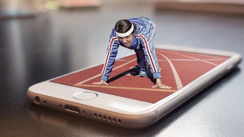 смартфон и спорт
