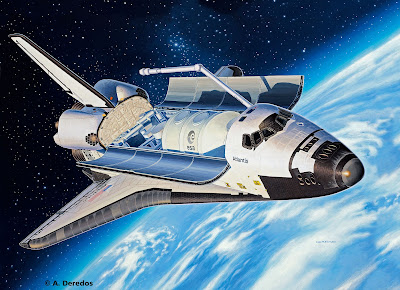 Space Shuttle Atlantis from Revell