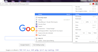 How to delete browsing history data
