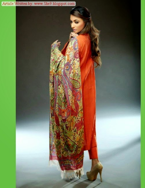 Pashmina Shawls of Hadiqa Kiani Fabric World