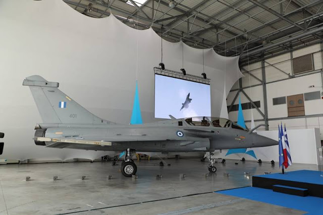 Greece takes delivery first Rafale