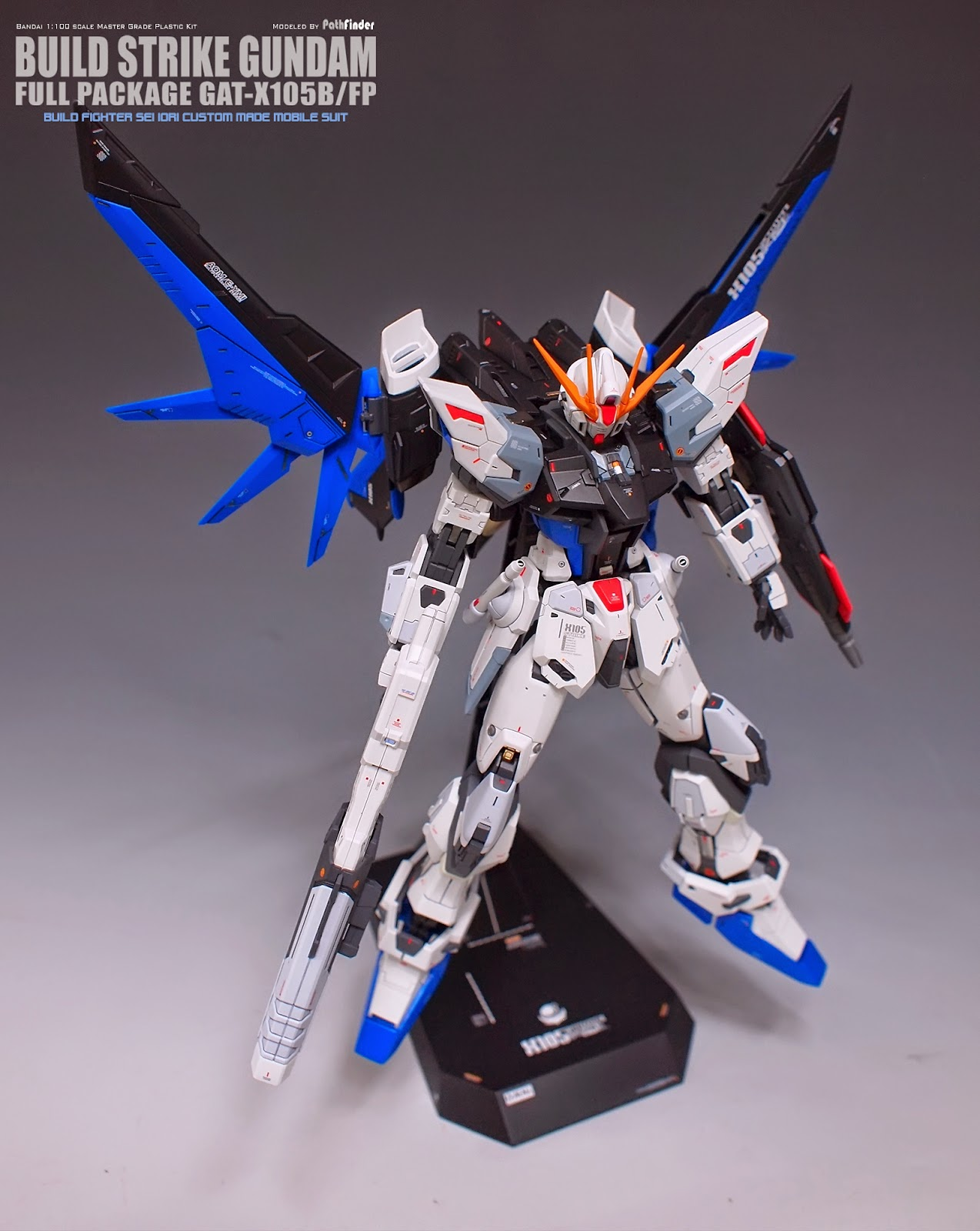Custom Build: MG 1/100 Build Strike Gundam Full Package