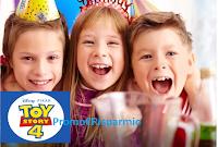 Logo Con Coop e Disney vinci pacchetti compleanno Toy Story del valore di 400€