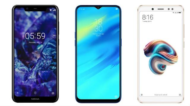 Mobiles smartphones 2019