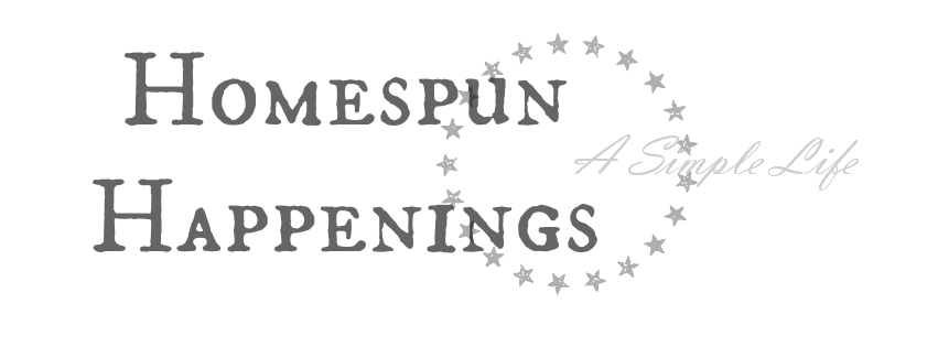 Homespun Happenings