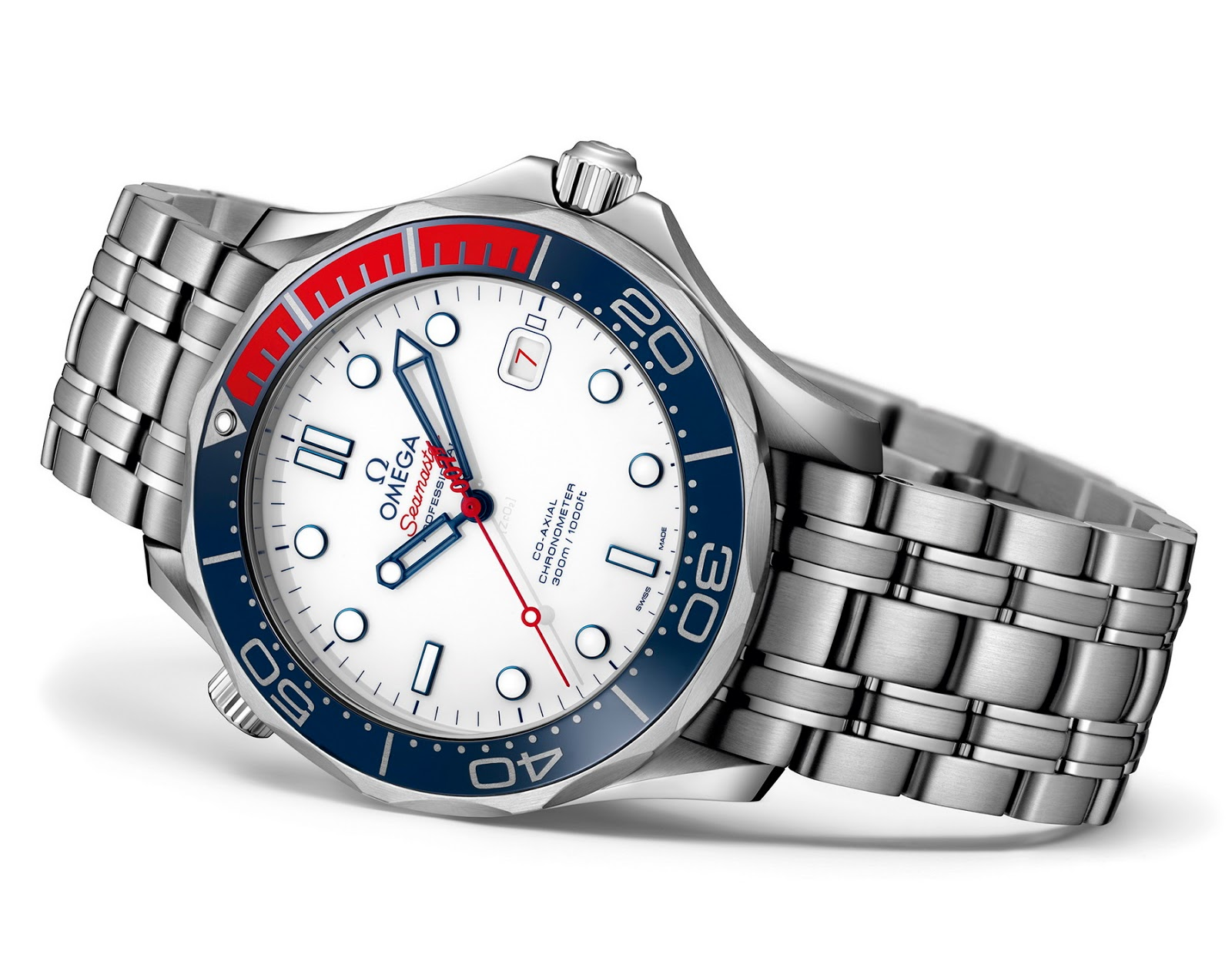 Omega seamaster diver 300m co axial 41mm commander 39 s dive - Omega dive watch ...