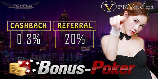 Macam-Macam Bonus Yang Diberikan Agen Poker Online