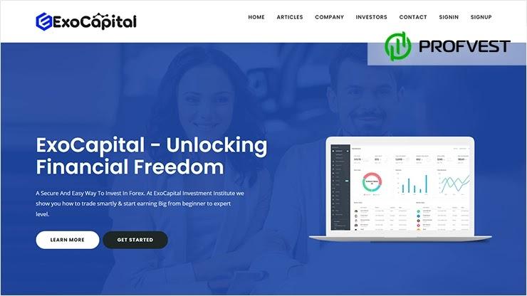 Exo Capital обзор и отзывы HYIP-проекта