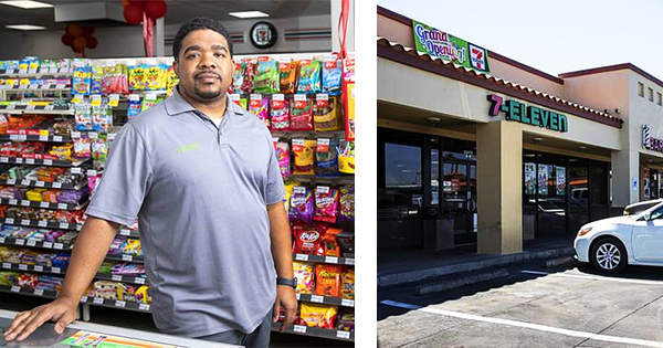 Johnathan Lacy, owner of Black-owned 7-Eleven