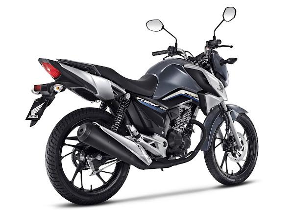 Honda CG 160 2022 - Titan - Cinza