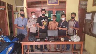 Polisi Tangkap Pelaku Pencurian dalam Rumah di Padang Tae Pessel