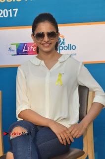 Actress Rakul Preet Singh at Endometriosis Awareness Walk at Apollo Cradle  0079.jpg
