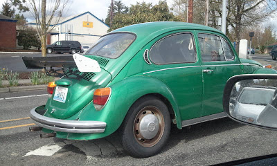VW Beetle spoiler - Subcompact Culture