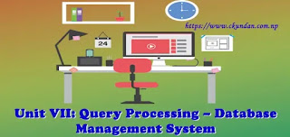 Query Processing – Database Management System