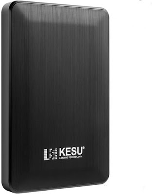 Review KESU 2.5 320GB Portable External Hard Drive