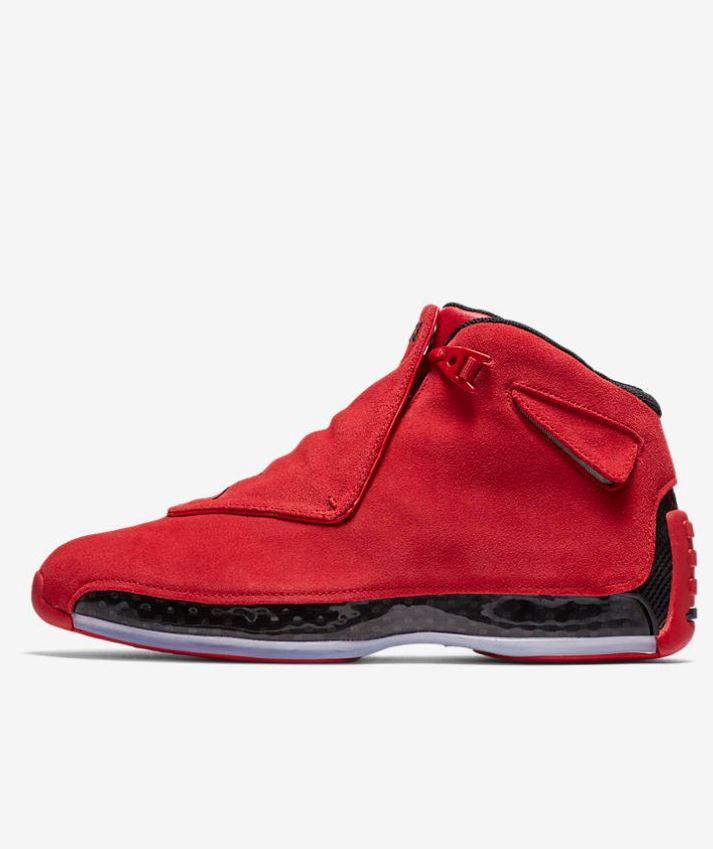 sports shoes f663a 039a5 Now it returns in a style befitting Jordan royalty, sporting luxe suede and  Chicago colors.