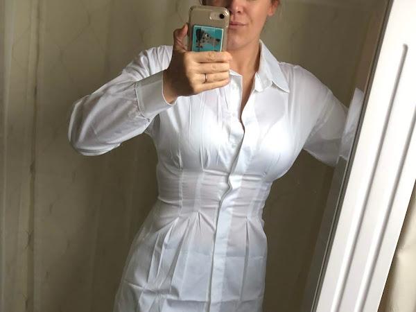 The best shirt dress for an hourglass shape.