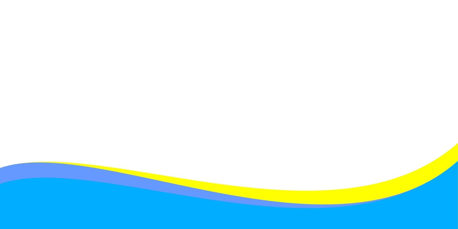 Warna Background Biru Baner