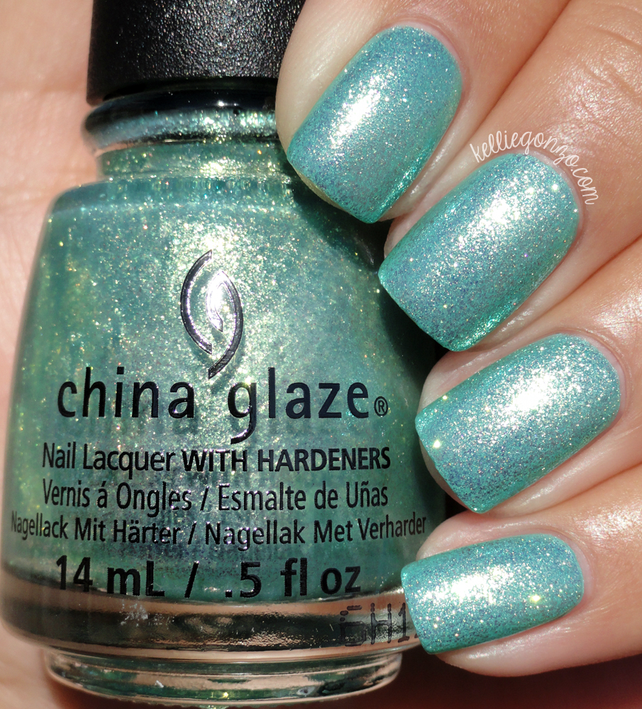 China Glaze Twinkle, Twinkle Little Starfish