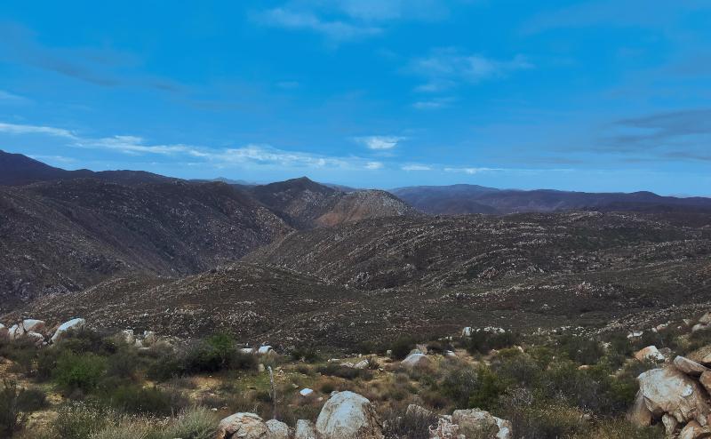 Mike's Sky Ranch View, Baja California