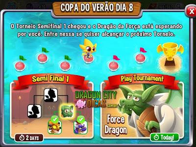 Ganhe o Dragão Força - Torneio!