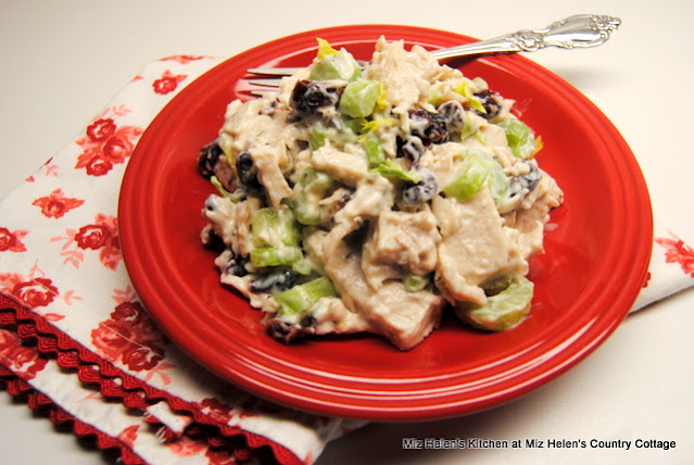 Turkey Cranberry Salad at Miz Helen's Country Cottage