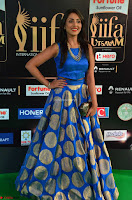 Madhu Shalini Looks Super Cute Slim trim Blue Choli Ghagra IIFA Utsavam Awards 016.JPG