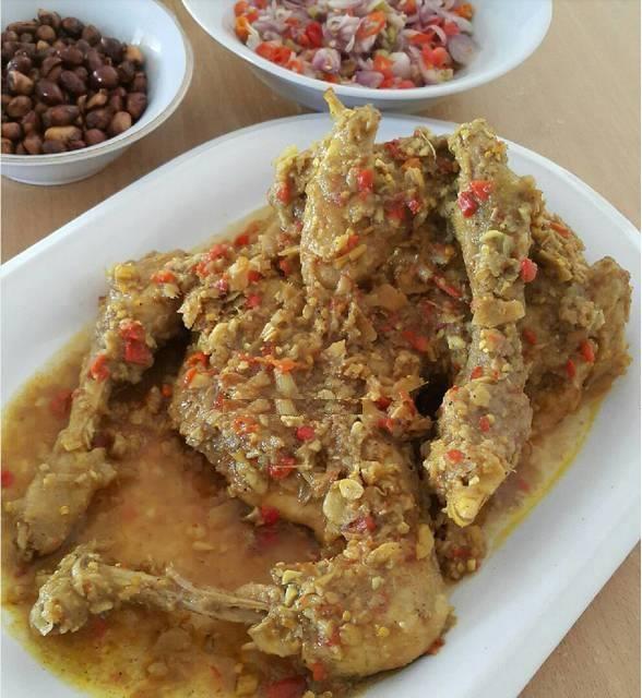 Resep Ayam Betutu Kuah Lezat Khas Gilimanuk Bali Dan Sambal Matah