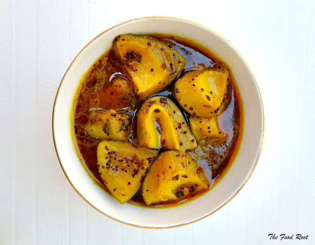 Aam ki launji is an easy recipe to prepare, does not require too much of effort or prior preparation and makes a perfect accompaniment for light and flavorful dishes.