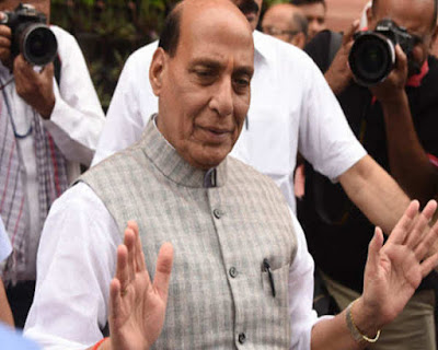 Defence Minister of India, Rajnath Singh said  that Kashmir never belonged to Pakistan