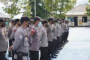 Kapolres Sekadau Lepas Kepulangan Personel BKO Polres Sanggau Dalam Pengamanan Pilkada