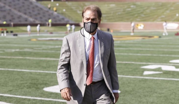 Nick Saban Has Tested Positive For COVID-19, Again