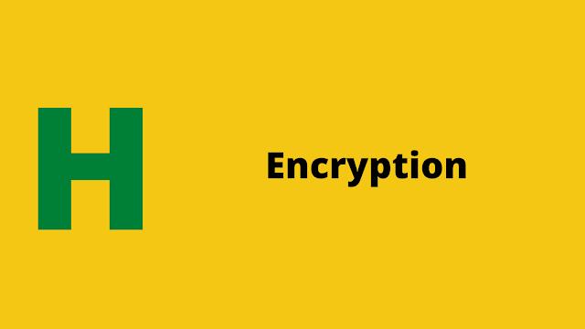 HackerRank Encryption problem solution
