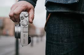 Fujifilm X100V, Fujifilm X100V side view