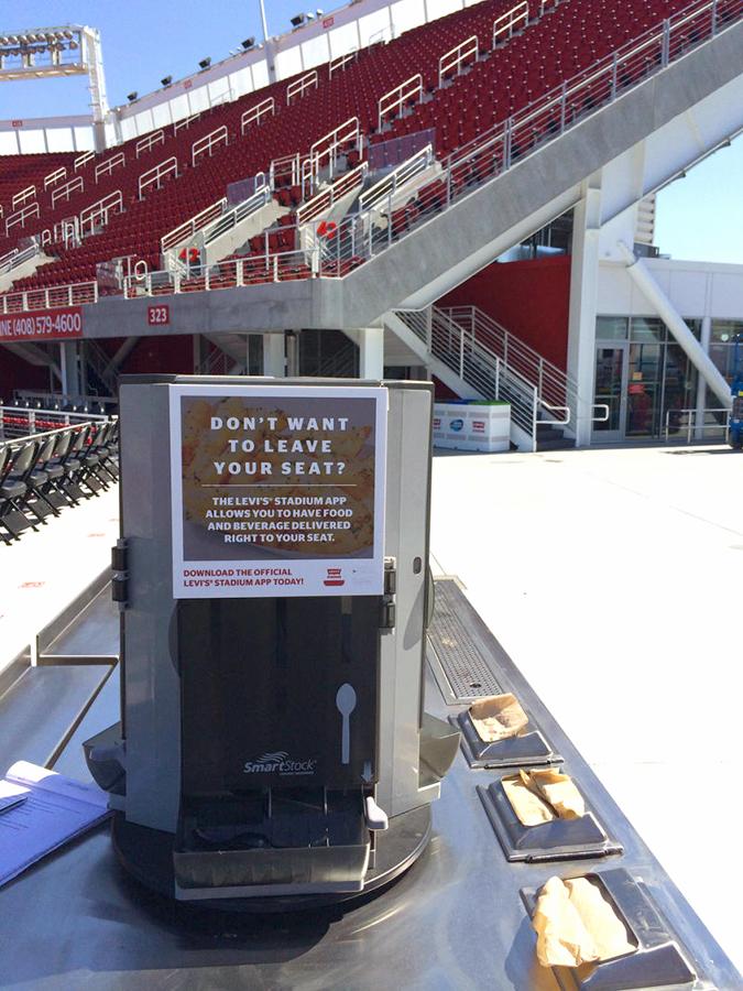 levi's stadium superbowl tecnologia