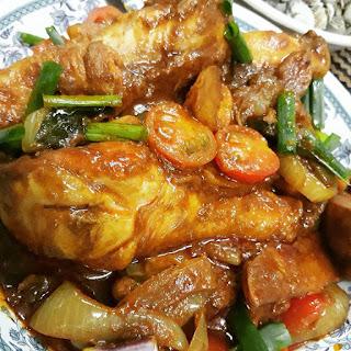 Resepi Kari Ayam Goreng