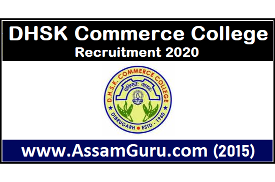 DHSK Commerce College JOBS 2020
