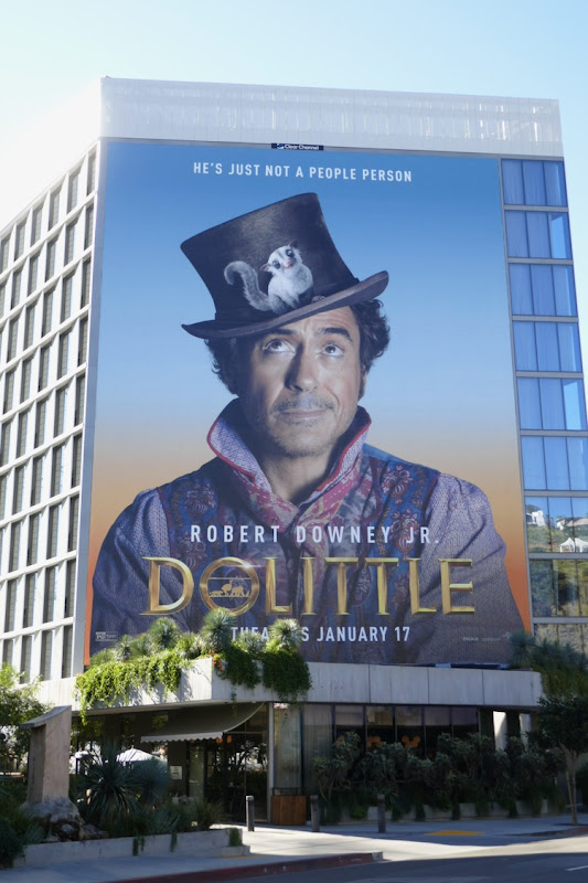 Giant Dolittle movie billboard