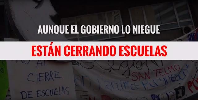 Larreta cierra escuelas: el peor año de la historia para la educación argentina
