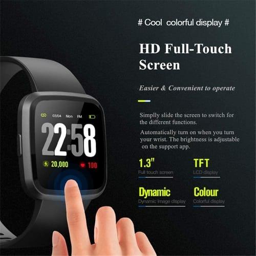 Review DSmart V12 Blood Oxygen Spo2 HD Smart Watch