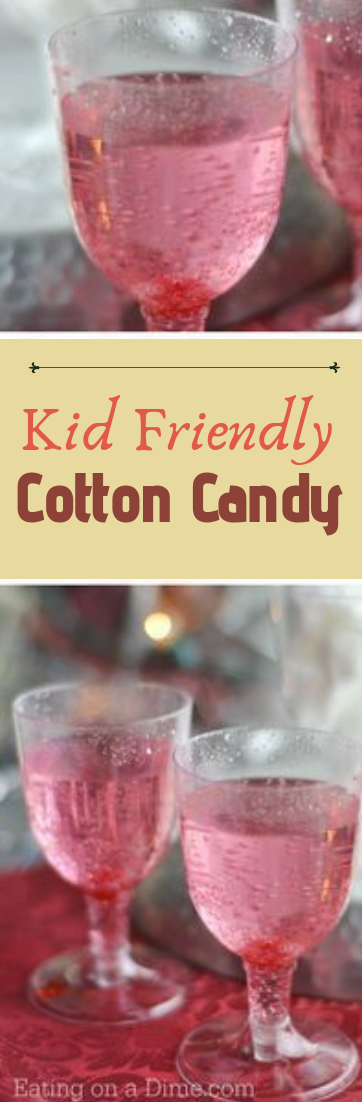 Kid Friendly Cotton Candy