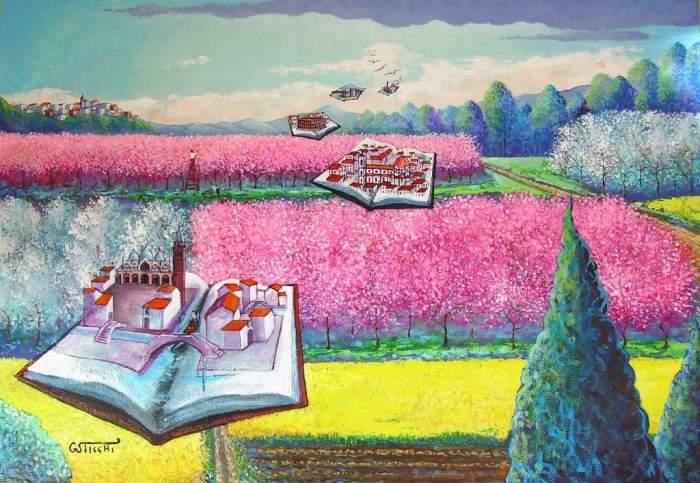Сюрреалистические картины маслом. Giuseppe Sticchi