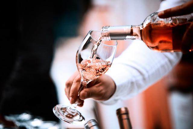 roséwijnen, wijnen, dranken, kaart, menu